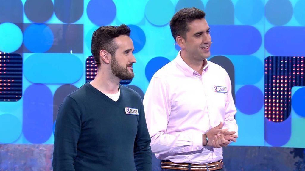 Fernando y Antonio llegan a la fase final y ganan 300 euros