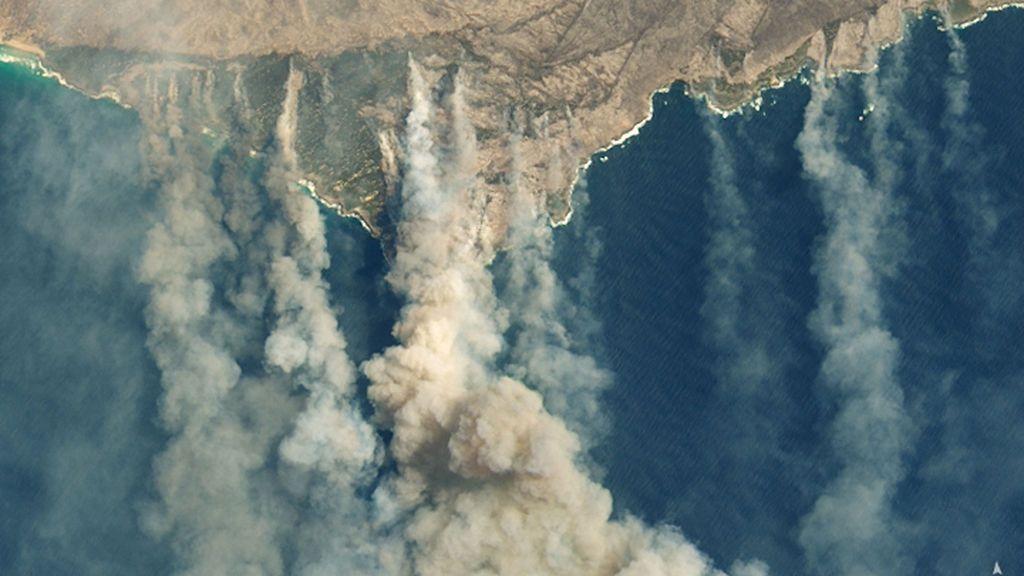 La Nasa informa, el humo de los incendios de Australia ha llegado a Latinoamérica y dará la vuelta al mundo