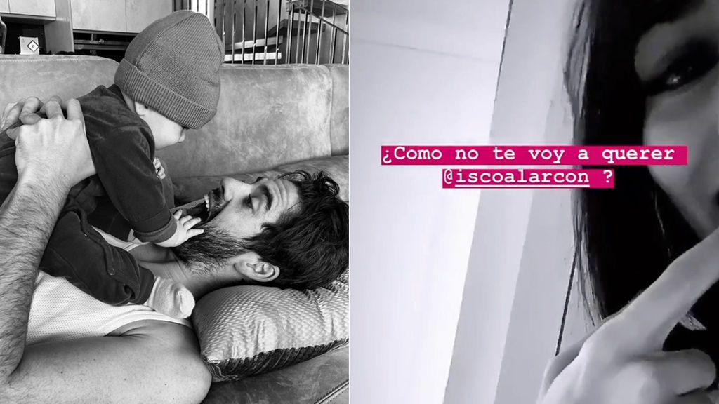"""Sara Sálamo graba a escondidas a Isco cantándole a su bebé: """"Canta conmigo y te lo enseñaré"""""""
