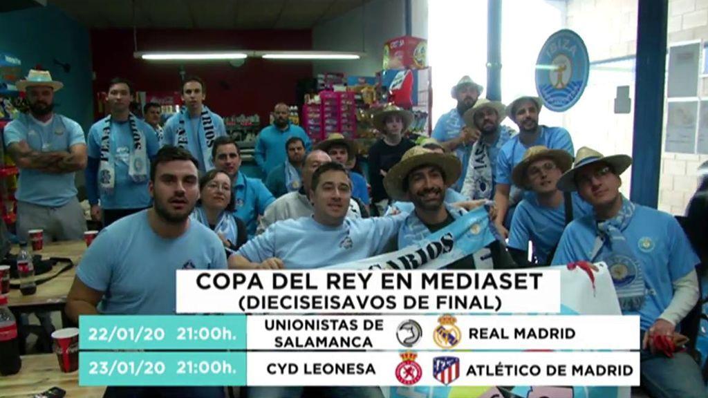 La Copa del Rey se ve en Mediaset: Unionistas - Real Madrid y Cultural Leonesa - Atlético, en Cuatro