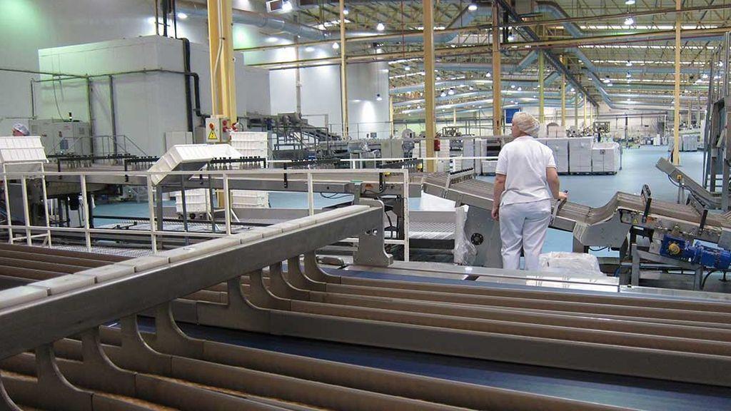 Actividad industrial España