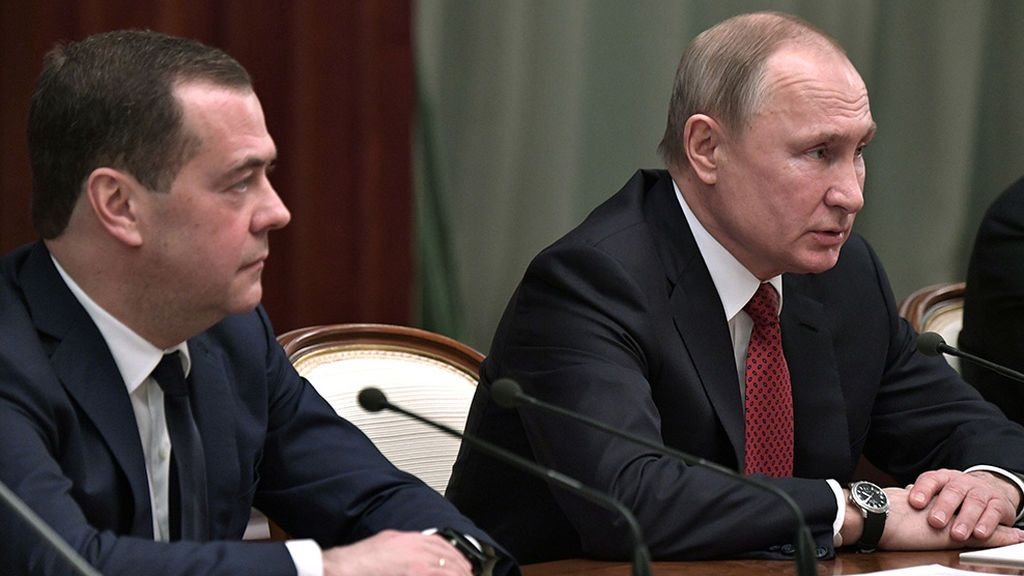 El gobierno ruso dimite en bloque tras los cambios propuestos por el presidente Putin