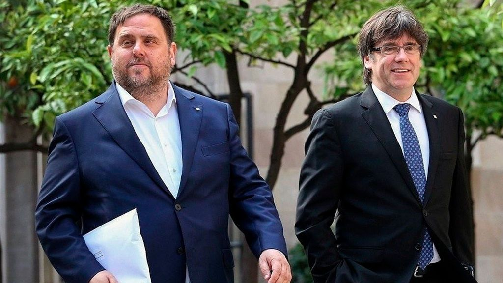 Puigdemont intenta anular al Supremo y Junqueras pide otra consulta a la Justicia Europea