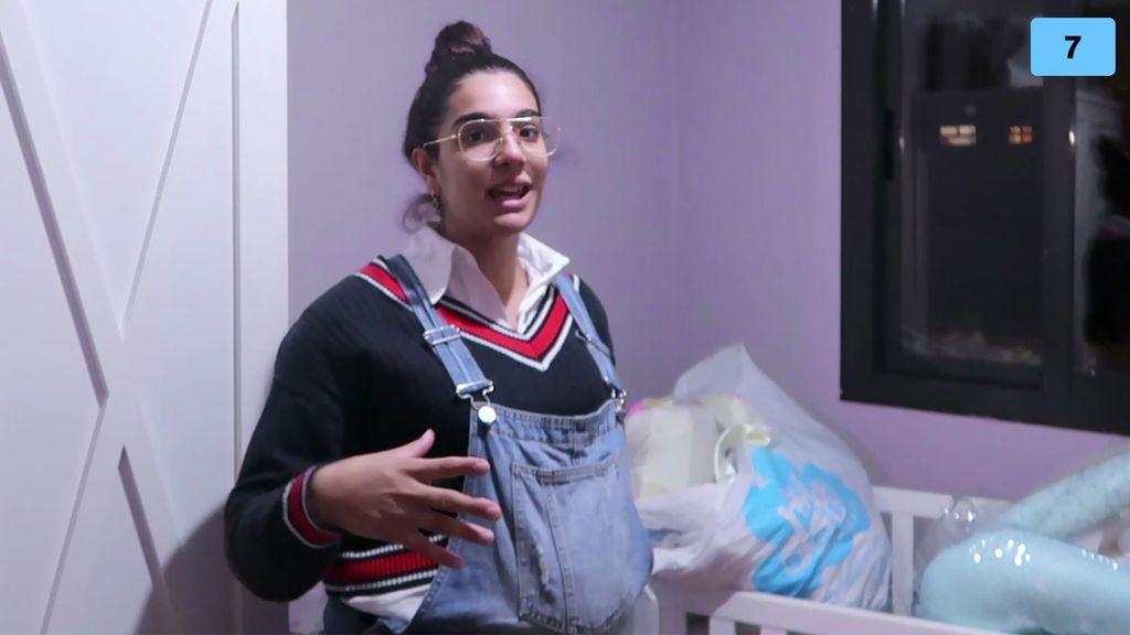 Alma Bollo enseña los rincones de su nueva casa y la habitación de su hija (2/2)