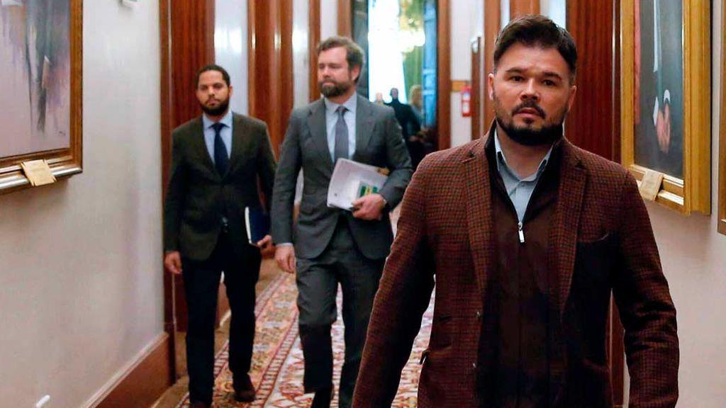 Gabriel Rufián (ERC) bendice el nombramiento de Dolores Delgado como fiscal general del Estado