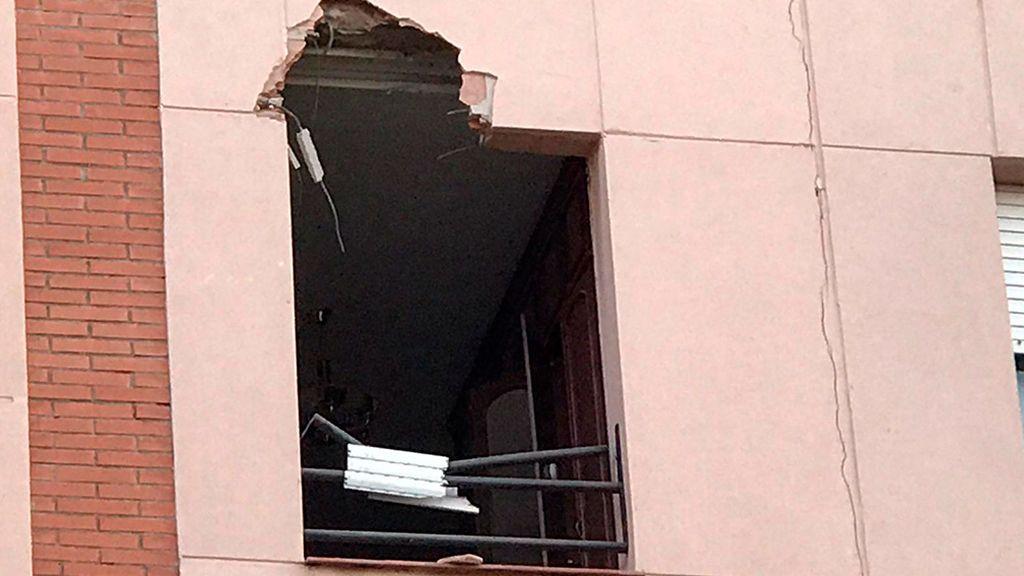 Casa afectada Tarragona