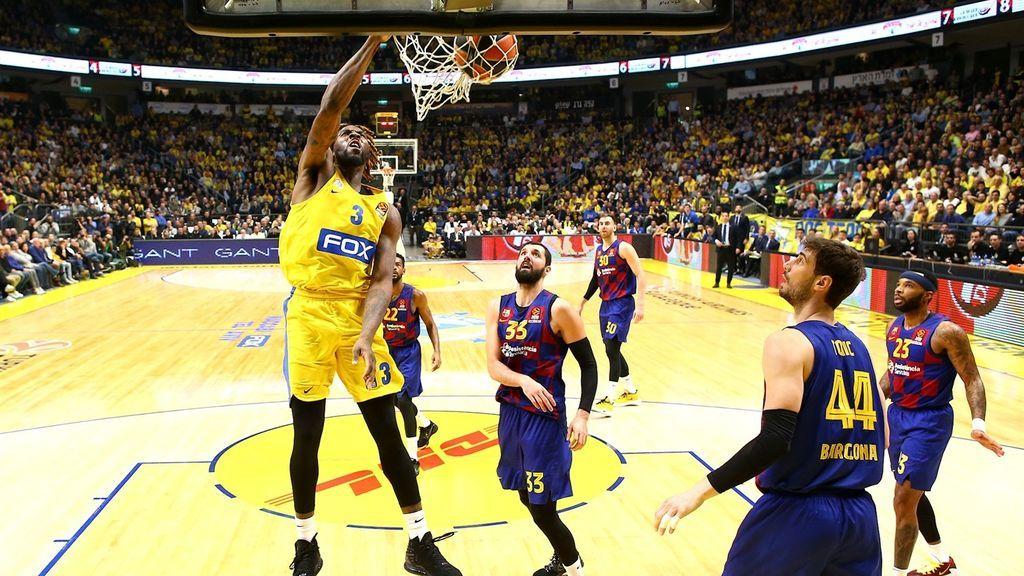 El Barça cae ante un Maccabi en racha desde la línea de triple (92-85)