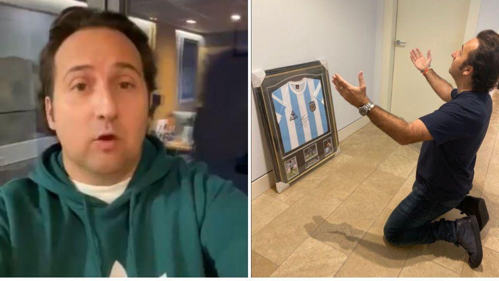 """Iker Jiménez: """"El que diga que Messi es el mejor de la historia, es porque no ha visto jugar a Maradona"""""""