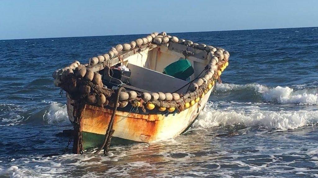Rescatan una patera con 33 personas a bordo al sur de Gran Canaria