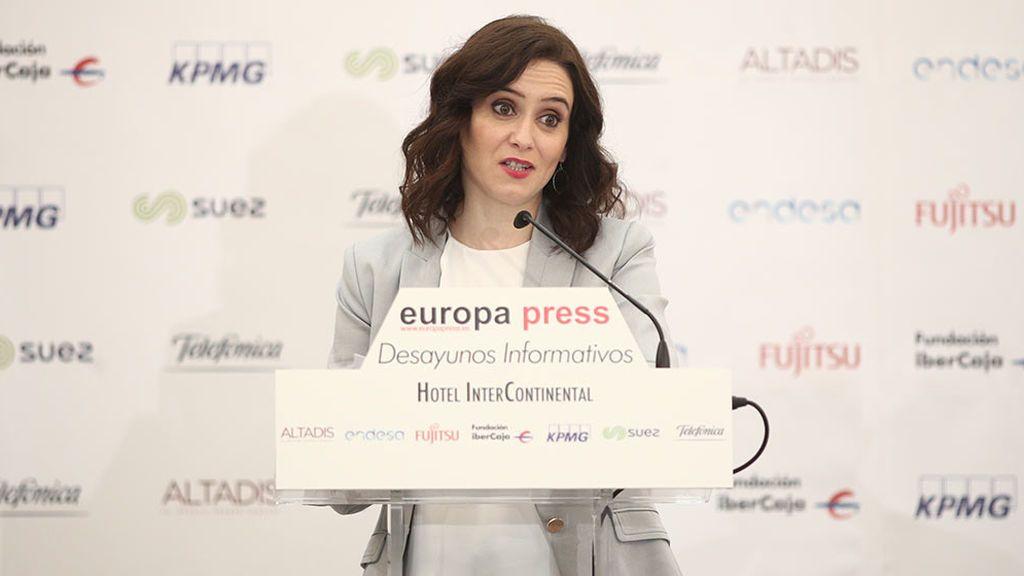 Díaz Ayuso asegura que 'irá' a por el Mobile World Congress