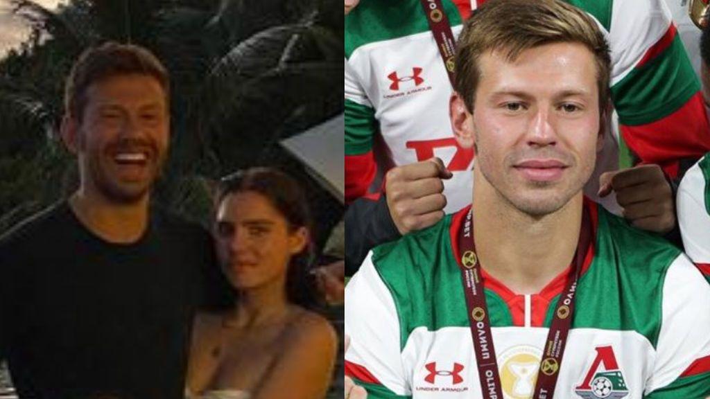 Smolov, jugador del Lokomotiv, criticado por prometerse con la nieta menor de edad de Boris Yeltsin