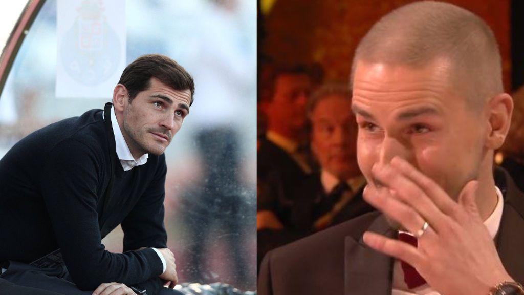 """El mensaje de apoyo de Casillas a Van Damme, portero belga que lucha contra la leucemia: """"Tenemos que sobreponernos"""""""