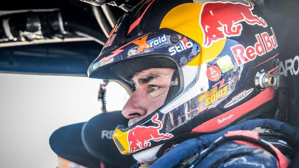 """Carlos Sainz, a un paso de la victoria del Dakar: """"Cuando se va acercando el final hay todavía más tensión"""""""