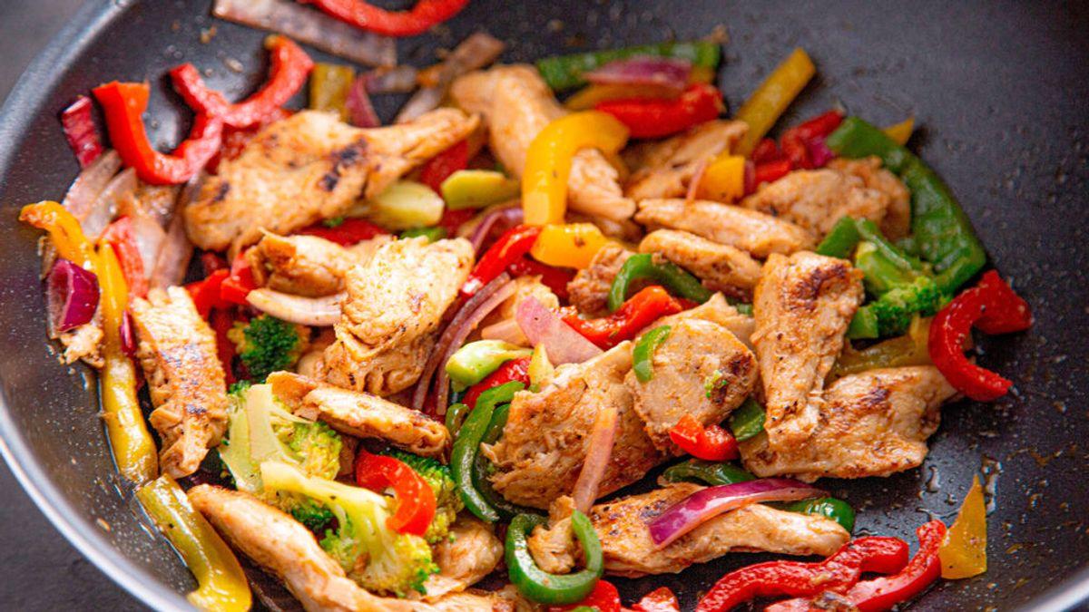 Carne de pollo vegetal