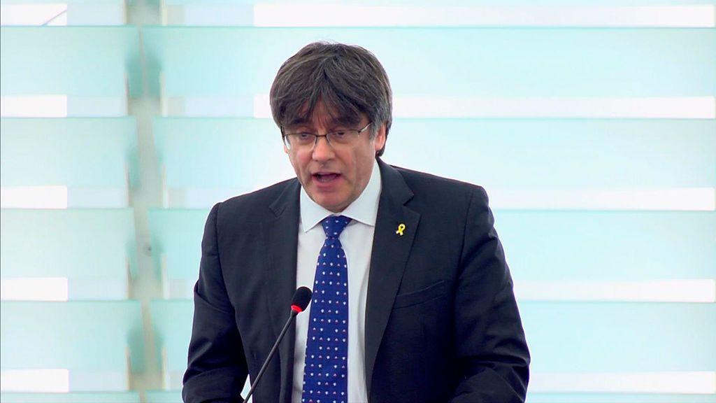 La Eurocámara activa el suplicatorio contra Puigdemont