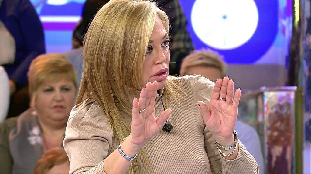 """Belén Esteban entra a la guerra con Sofía Suescun: """"Vete a la mierda"""""""
