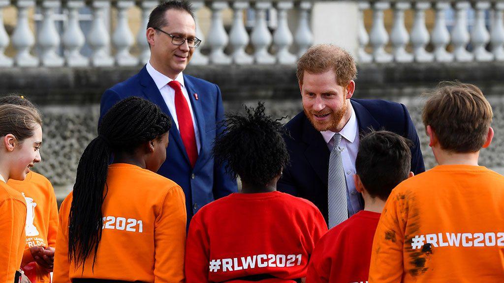 El príncipe Harry reaparece tras anunciar su independencia