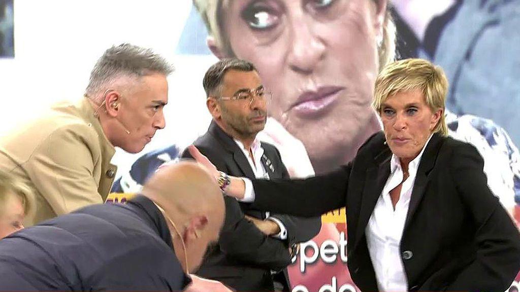 Chelo García Cortés se moja acerca de su presentador de 'Sálvame' favorito