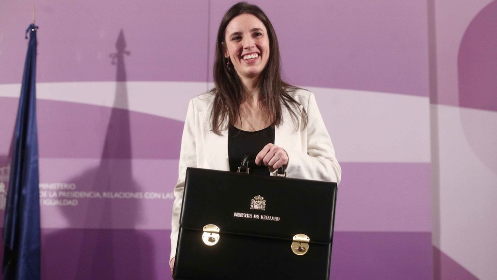 Irene Montero, ministra de Igualdad