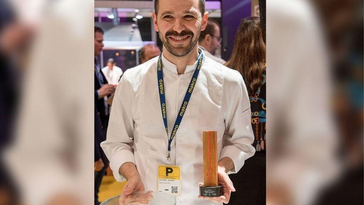 Miguel Carretero, del restaurante Santerra de Madrid, premio al Mejor Escabeche de España