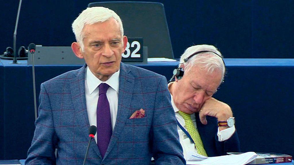 Margallo se mofa de su siesta en la eurocámara: ahora se compara con Jovellanos