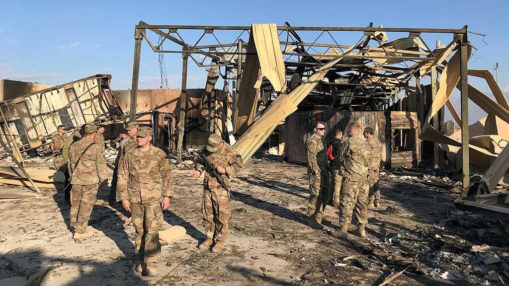 EEUU confirma que 11 soldados resultaron heridos en el ataque iraní