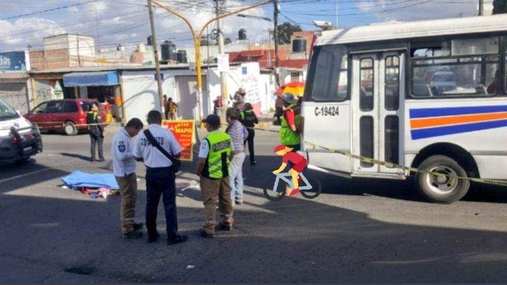 Un conductor de autobús atropella y mata a una mujer de 73 años en un accidente: era su suegra