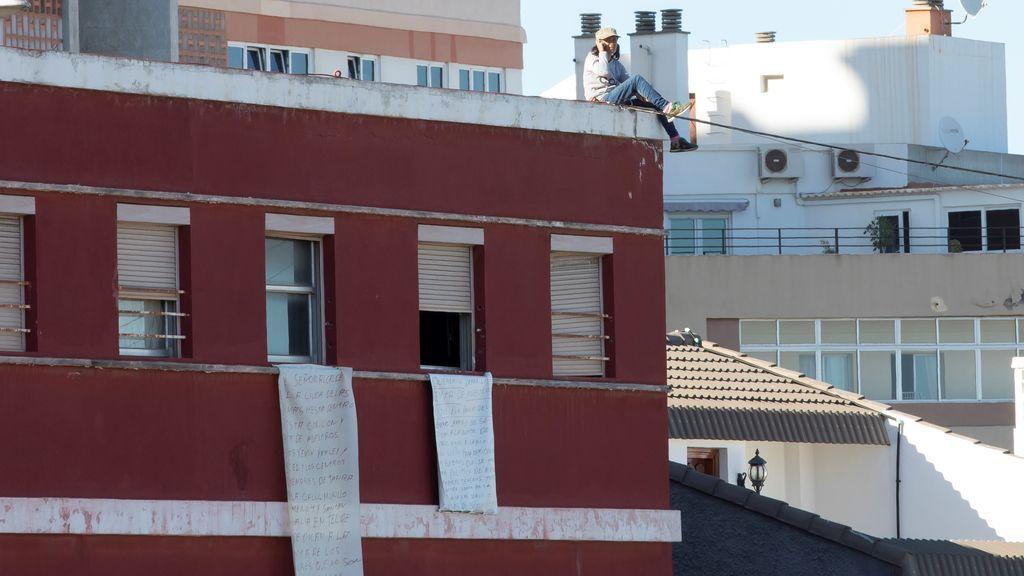 Una pareja amenaza por segunda vez con suicidarse para recuperar a sus hijos en Las Palmas