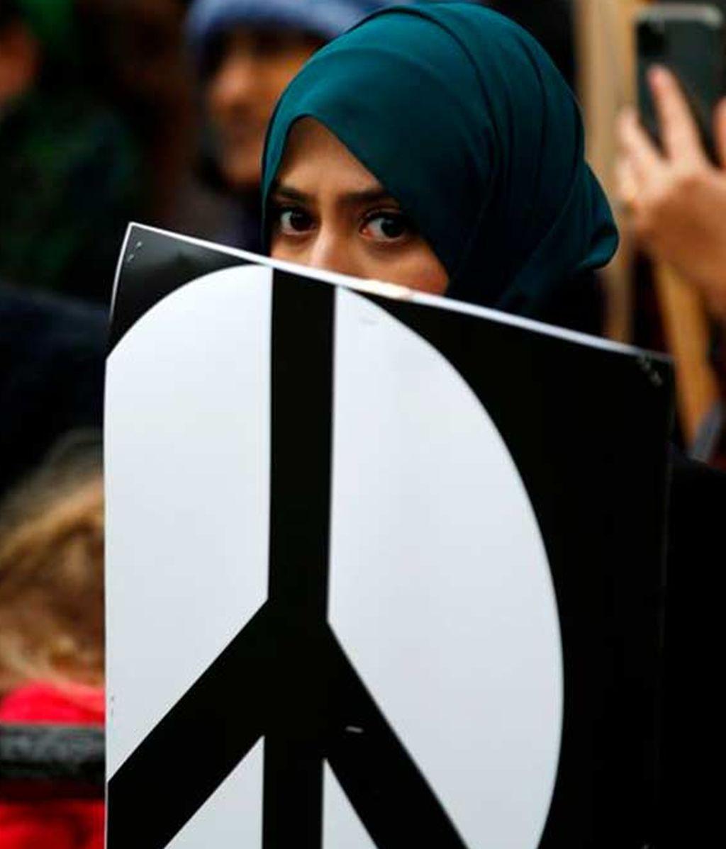 Joven manifestación Londres