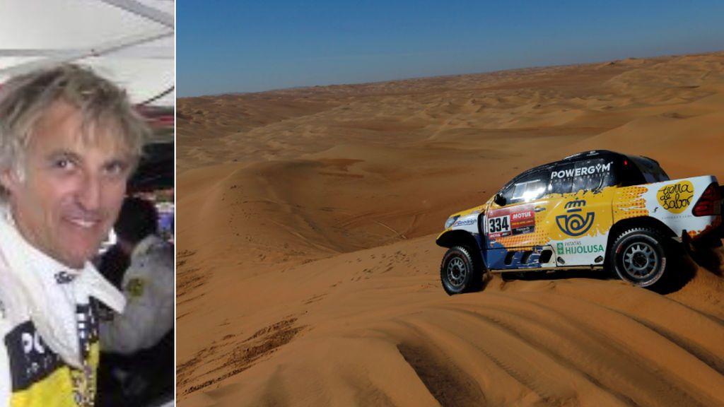 Jesús Calleja termina su primer Dakar con una meritoria 27ª plaza en la general