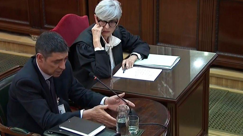 Declaración de Josep Lluis Trapero en el Tribunal Supremo
