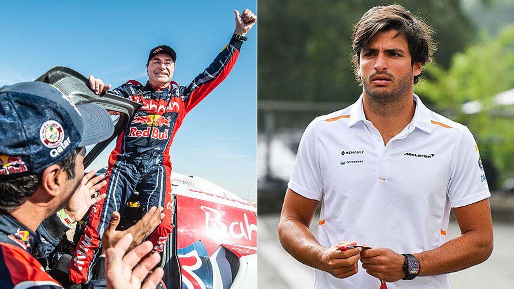 """La felicitación del hijo de Carlos Sainz a su padre tras ganar su tercer Dakar: """"El orgullo que siento es muy difícil de explicar"""""""
