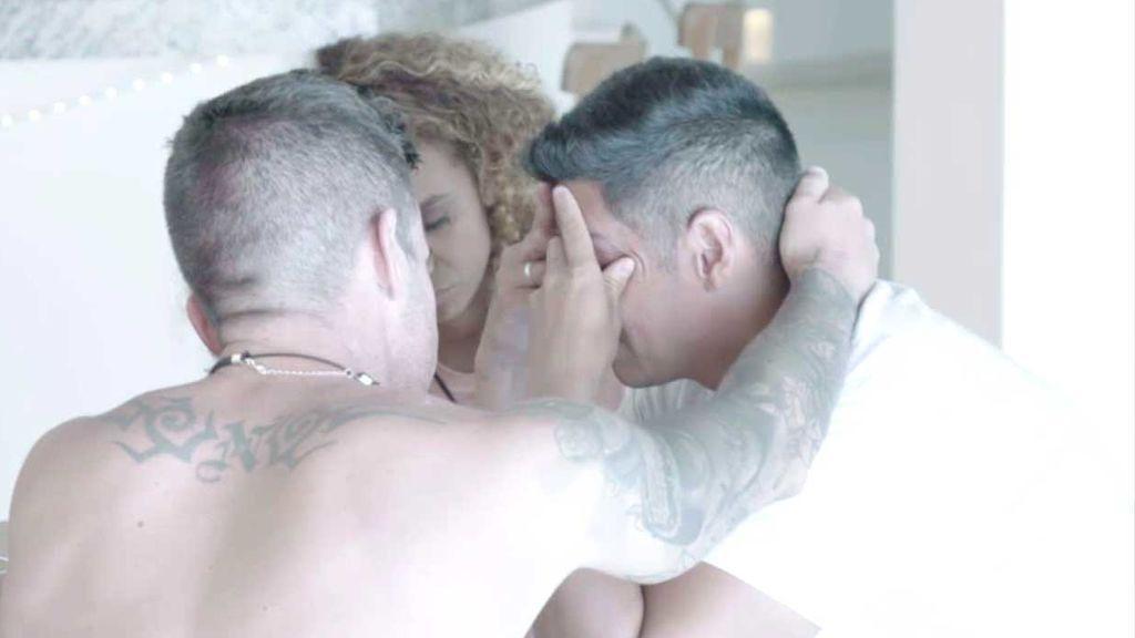 Vídeo inédito: Christofer, desolado tras ver las imágenes de Fani