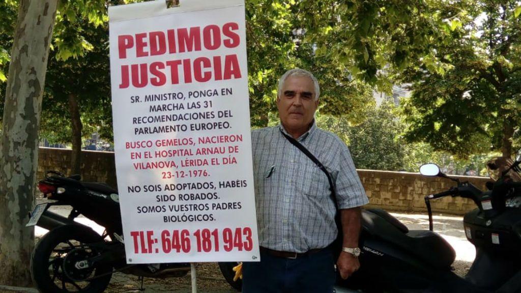 """Francisco y Rafaela, nueve años buscando a sus 'bebés robados': """"No perdemos la ilusión"""""""
