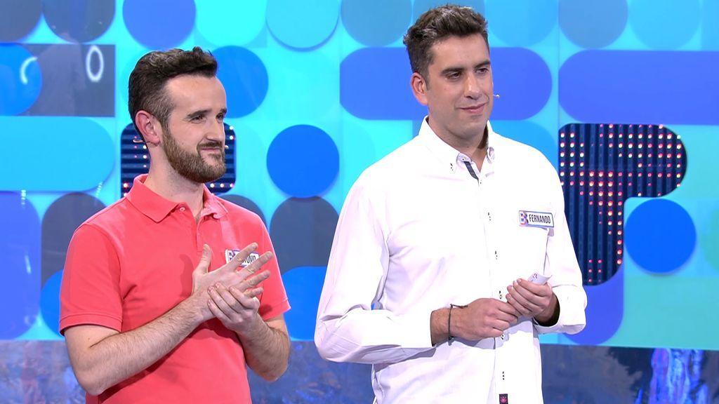 Antonio y Fernando no arriesgan y se plantan con los 500€ de 'El Bribón'