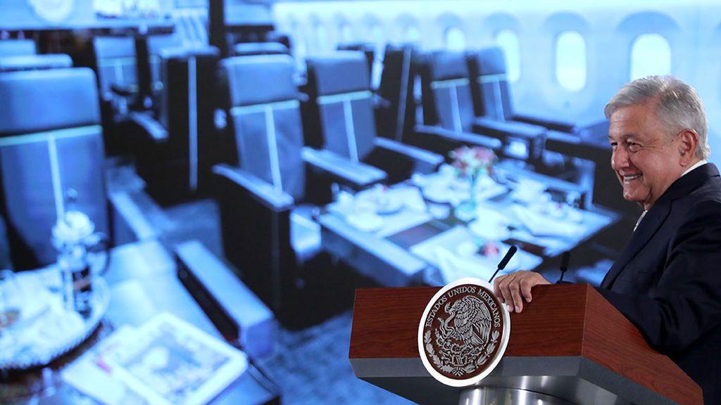 López Obrador propone rifar el avión presidencial de México con papeletas a 24 euros