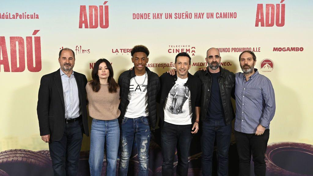 Junket de prensa de 'Adú', nueva película de Telecinco Cinema
