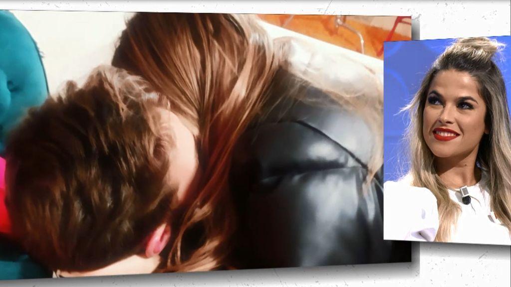 Las imágenes que confirman que Jimena y David se han besado