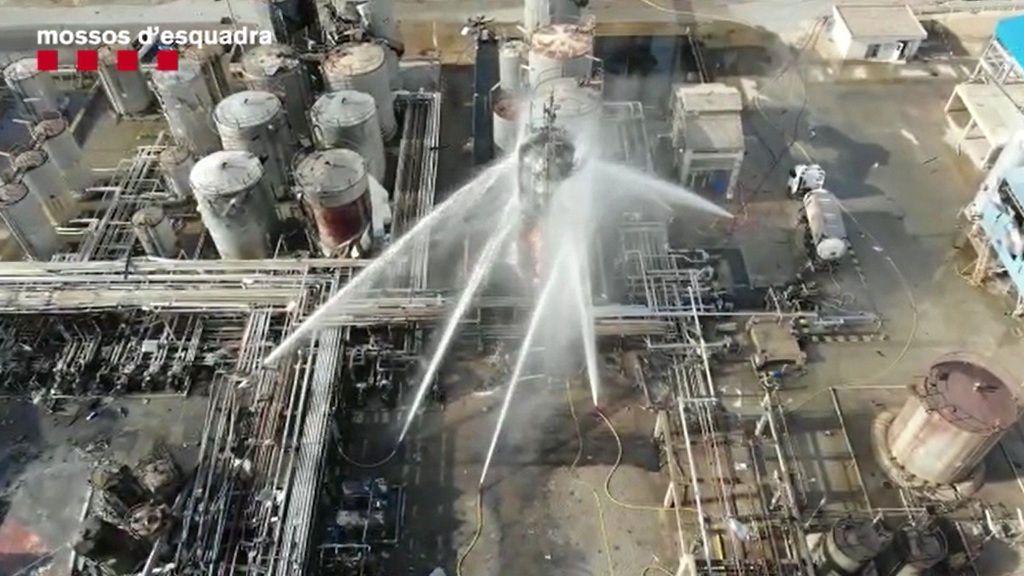 La reducción de plantilla, uno de los motivos de la explosión de la planta química de Tarragona según CC.OO.