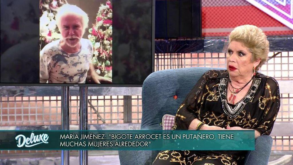 María Jiménez saca los trapos sucios de Edmundo Arrocet