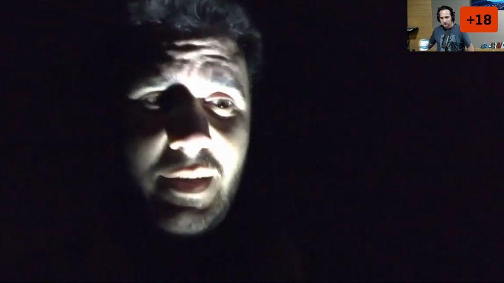Nacho Navarro se topa en directo con un ritual con animales decapitados