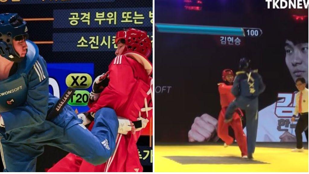 La asociación coreana de taekwondo prueba combates con barras de energía al estilo Tekken