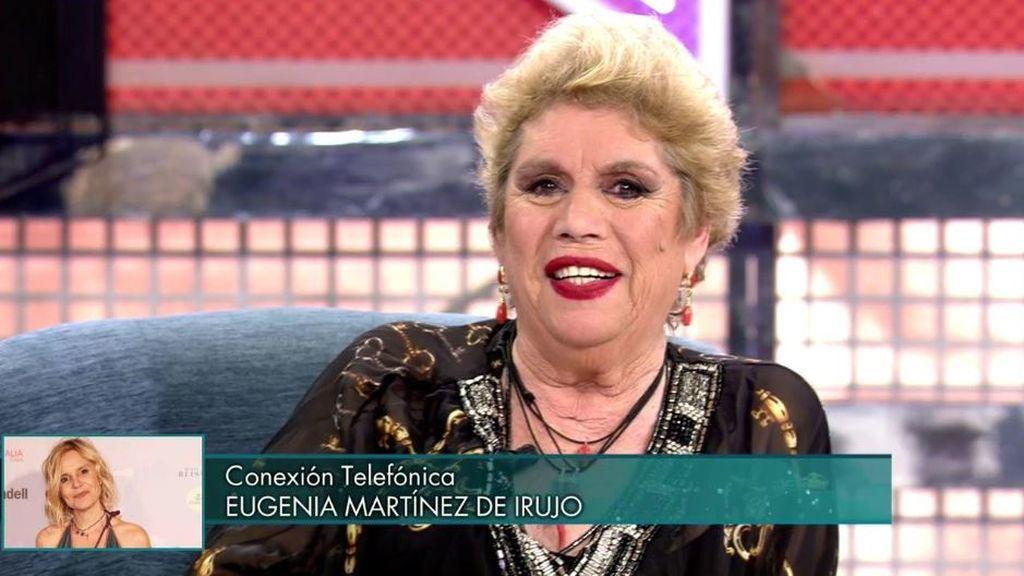 La llamada de Eugenia Martínez de Irujo a María Jiménez