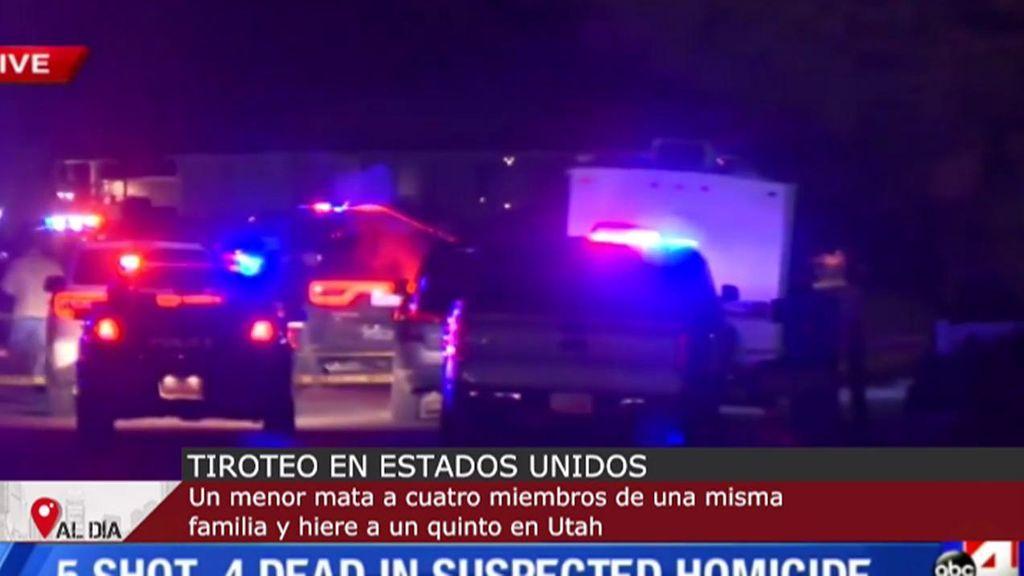 Tiroteo en Estados Unidos: un menor mata en Utah a cuatro miembros de una misma familia y hiere a un quinto