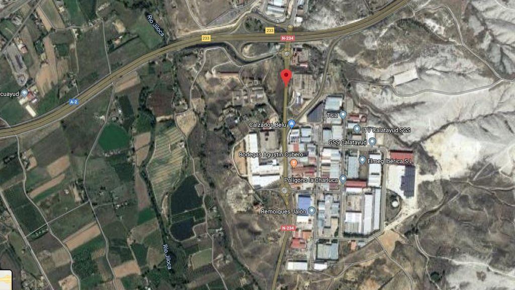 Muere un hombre, de 52 años, tras ser atropellado por un vehículo que se dio a la fuga, en Calatayud