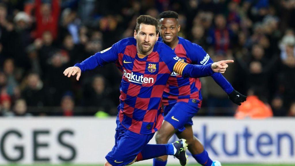 Messi le da al Barça la primera victoria de la 'Era Setién' ante el Granada (1-0)