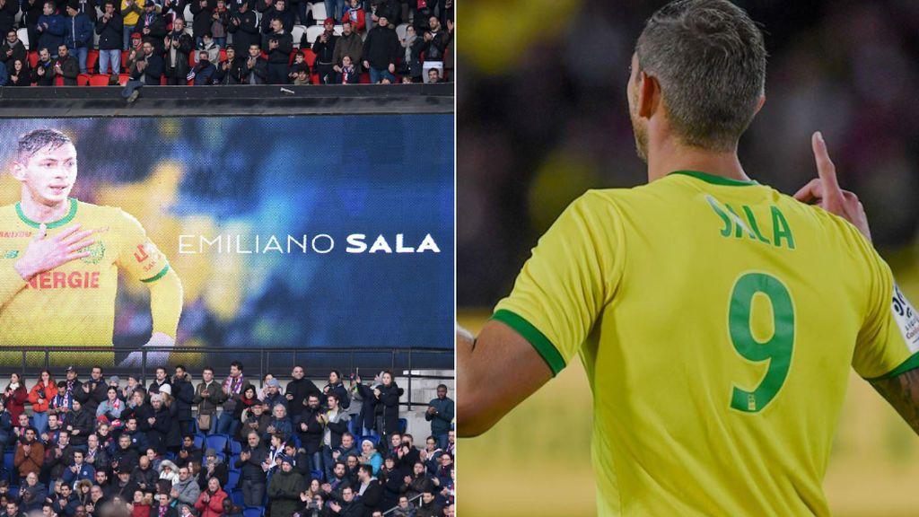 El homenaje del Nantes a Emiliano Sala en el primer aniversario de su muerte