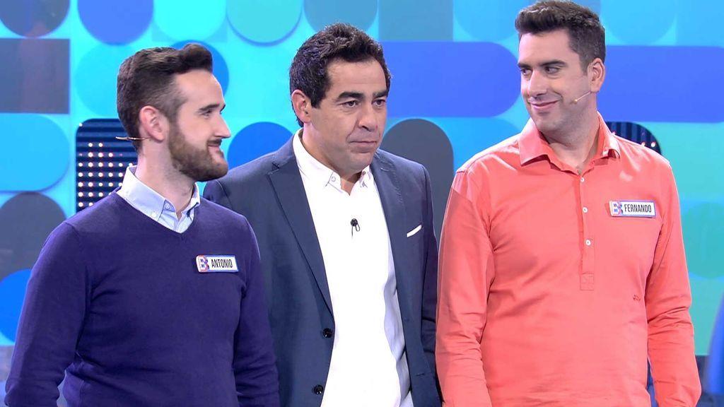 Antonio y Fernando no confían en 'El Bribón' y solo ganan 10 euros