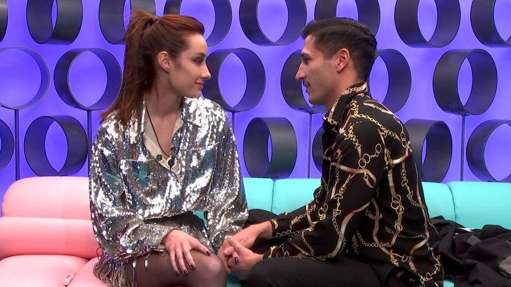 """Adara se va de 'El tiempo del descuento' declarando su amor por Gianmarco: """"Estoy enamorada"""""""
