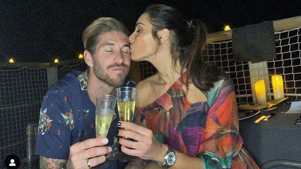 Pilar Rubio enseña por primera vez la barriga tras anunciarse que espera su cuarto hijo con Sergio Ramos